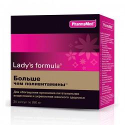 Леди'С, капс. 880 мг №30 формула больше чем поливитамины